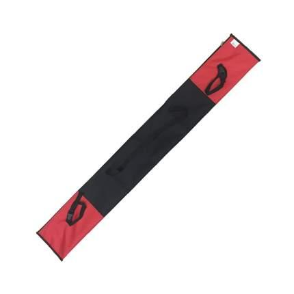 Чехол для беговых лыж NovaSport красный, 150 см