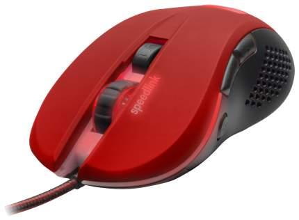 Проводная мышка SPEED-LINK Torn Red/Black (SL-680008-BKRD)