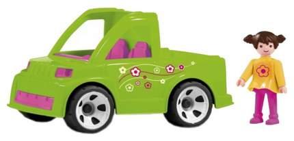 Автомобиль службы озеленения с водителем