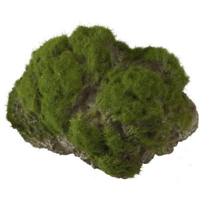 Камень для аквариума AQUA DELLA Moss Stone с мхом, 12х9,5х10,5 см