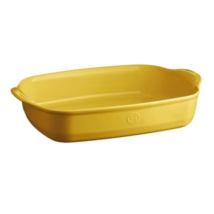 Форма для запекания прямоугольная Emile Henry, 42x27 см, цвет желтый