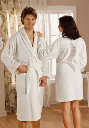 Банный халат HOBBY home collection Estiva кремовый S