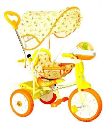 Детский трехколесный велосипед Jaguar оранжевый