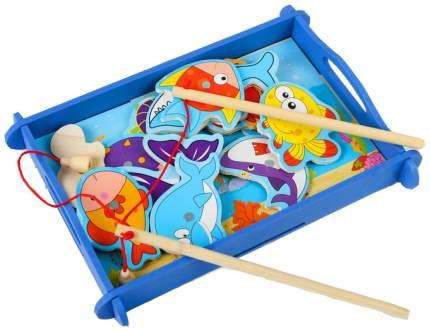 Рыбалка Водный мир, 12 элементов + 2  удочки Sima-Land