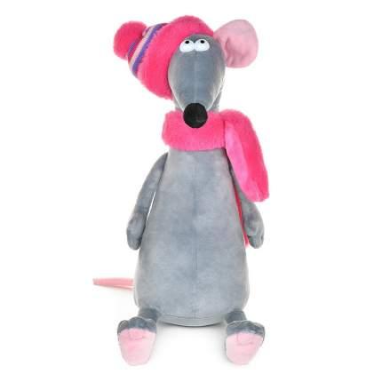 """Мягкая игрушка """"Крыска Лариска в шарфе и шапке"""", 34 см"""