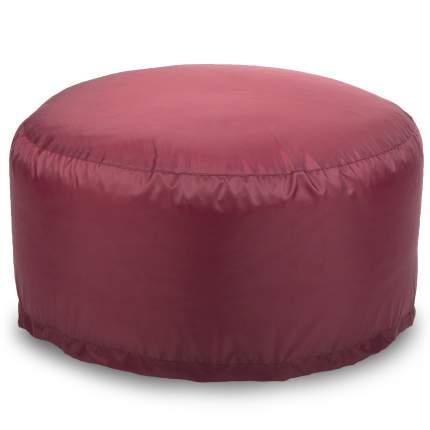 Кресло-мешок ПуффБери Таблетка Оксфорд, размер S, оксфорд, бордовый