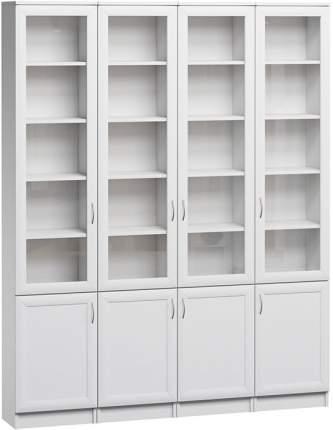 Шкаф книжный Divan.ru Цезарь-2 40х160х200, белый