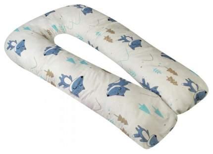 Подушка для беременных AmaroBaby U-образная 340х35 В лесу