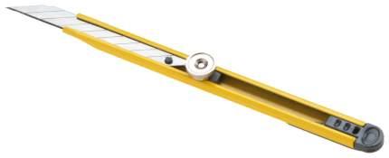 Нож канцелярский, желтый