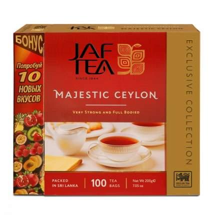 Чай Jaf Tea Majestic черный 110 пакетиков