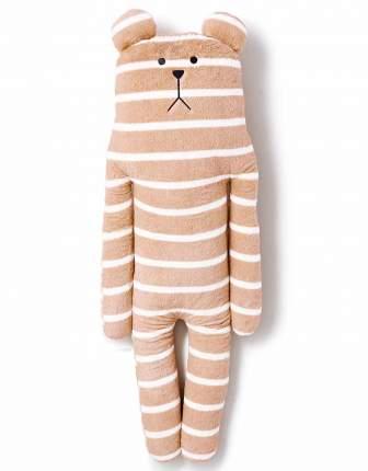 Большая игрушка-подушка Craftholic медведь L Simple CAMEL BORDER SLOTH