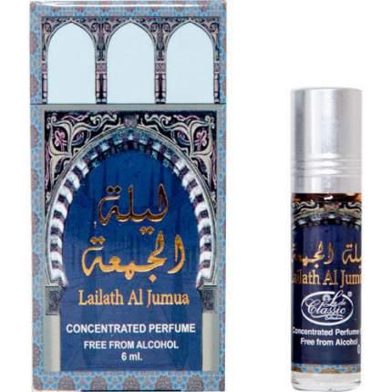 Масло парфюмерное La de Classic Collection  Lailath Al Jumu, 6 мл