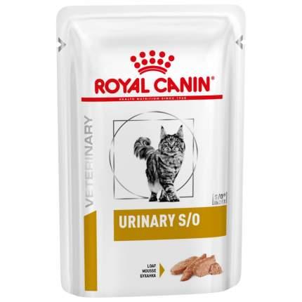 Влажный корм для кошек ROYAL CANIN Vet Diet Urinary S/O, паштет, цыпленок, 12шт по 85г