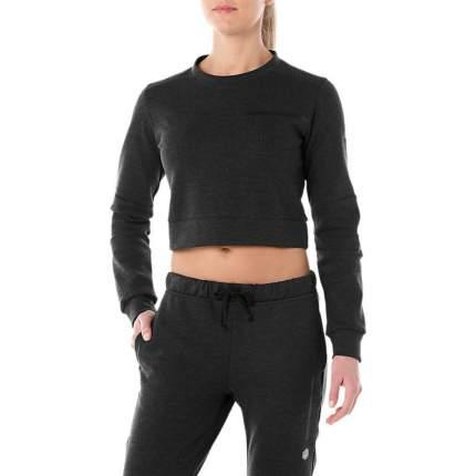 Женская толстовка Asics Tailored Cropped Crew 2032A292-001 черный XS
