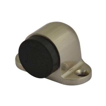 Ограничитель двери НОРА-М 108 напольный, матовый никель