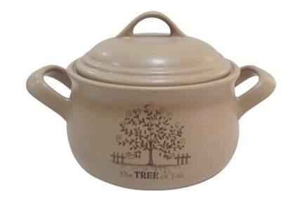 Горшочек с ручками и крышкой Дерево жизни 1 л Terracotta АЛ-45439