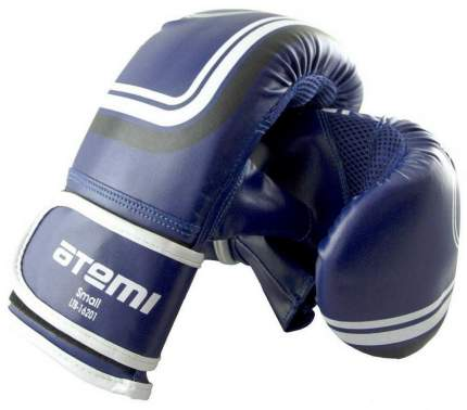 Снарядные перчатки Atemi LTB-16201, синие, S