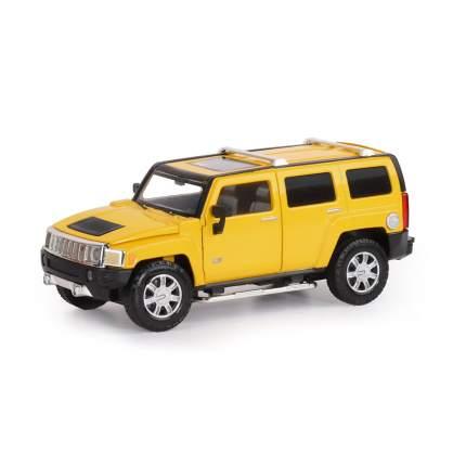 Машинка металлическая Автопанорама 1:24 Hummer H3, JB1251127