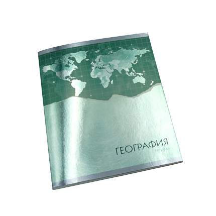 Тетрадь Unnika Land предметная Steel light А5 48л география ТТГ2Л486941