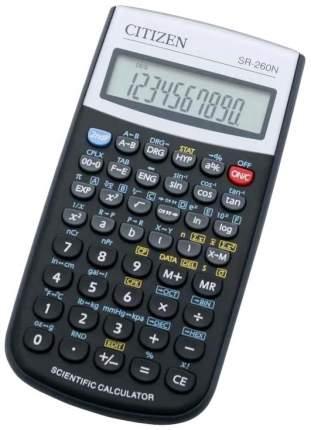 Калькулятор CITIZEN SR-260NGR