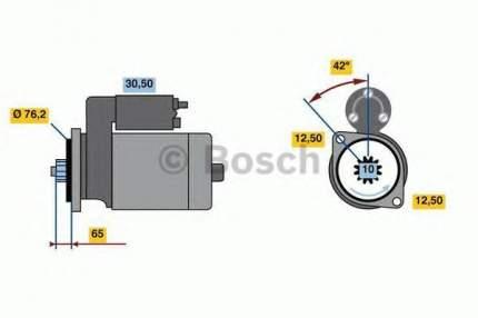 Стартер Bosch 0986018390