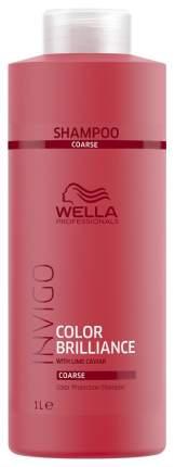 Шампунь Wella Professionals INVIGO Color Brilliance для жестких волос 1 л