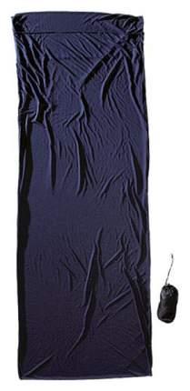 Вкладыш в спальник Cocoon Coolmax Travelsheet темно-синий 220X85 см