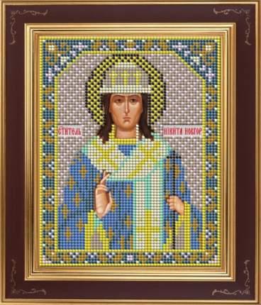 Вышивка бисером Galla Collection М253 Св.Никита 12х15 см