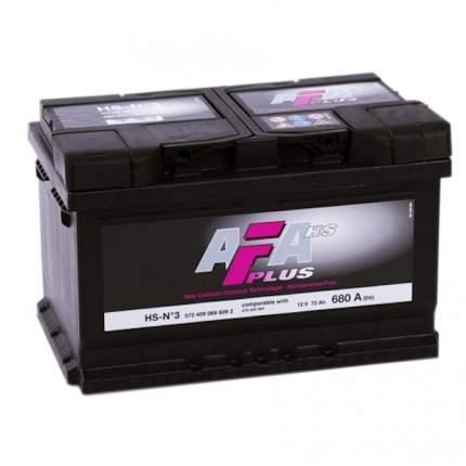Аккумулятор автомобильный Afa HS-N3
