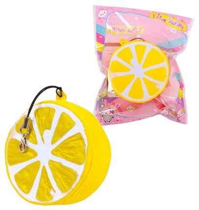 Мягкая игрушка-антистресс Kawaii долька лимона 6 см sq-87
