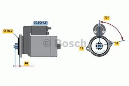 Стартер Bosch 0001123016