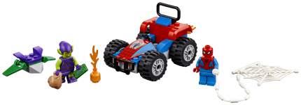 Конструктор LEGO Super Heroes Человек-паук Автомобильная погоня 76133