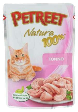 Влажный корм для кошек Petreet Natura Тунец 85 г
