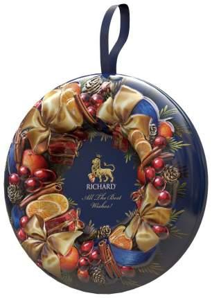 Чай черный Richard рождественский венок- all the best wishes