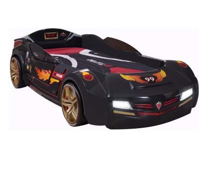 Кровать-машина Cilek Carbed BiTurbo цвет черный 90х195