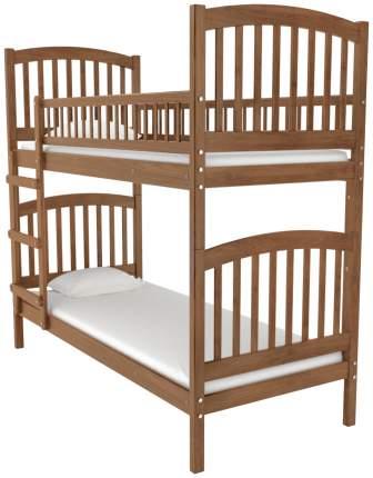 Двухъярусная кровать Nuovita Senso Due Nocescuro Темный орех