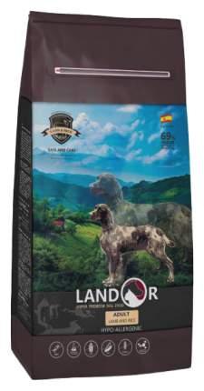 Сухой корм для собак Landor Adult, все породы, ягненок и рис, 15кг