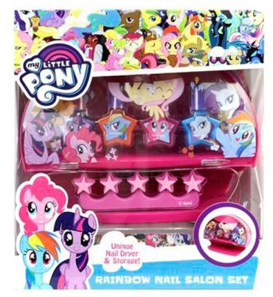 Игровой набор детской косметики Markwins My Little Pony Радуга 9806651 с сушкой лака