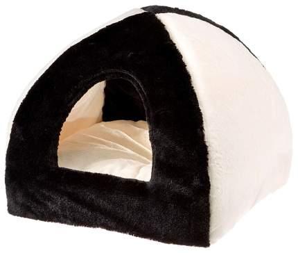 Домик для кошек Ferplast Tipi Soft 42 х 42 х 36 см черный 83265017