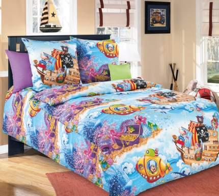 Комплект Детского постельного белья Пираты 1,5 спальный