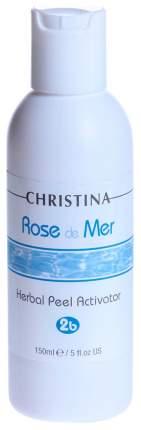 Лосьон для лица Christina Herbal Peel Activator Rose de Mer 2b 150 мл