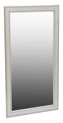 Зеркало настенное Мебелик 2391 60х110 см, белый ясень/золото