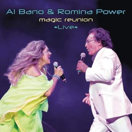 "Аудио диск Al Bano & Romina Power ""Magic Reunion Live"""