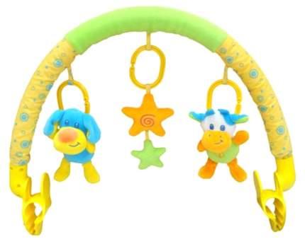 Дуга с игрушками на коляску Elefantino Друзья