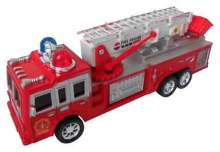 Инерционная пожарная машина Shantou Gepai Fire Engine, красная