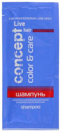Шампунь Concept Live Hair Shampoo for Colored Hair 15мл