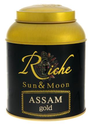 Чай Riche Nature ассам голд черный байховый индийский крупнолистовой 400 г