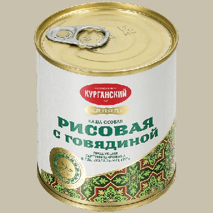 Каша КМК рисовая говядина халяль 290 г