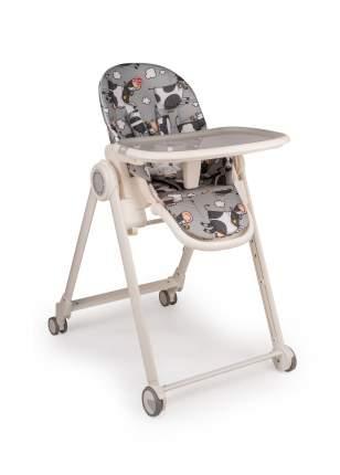 Стульчик для кормления Happy Baby Berny Basic Grey