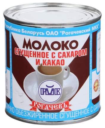 Молоко Рогачев сгущенное с сахаром и какао 380 г